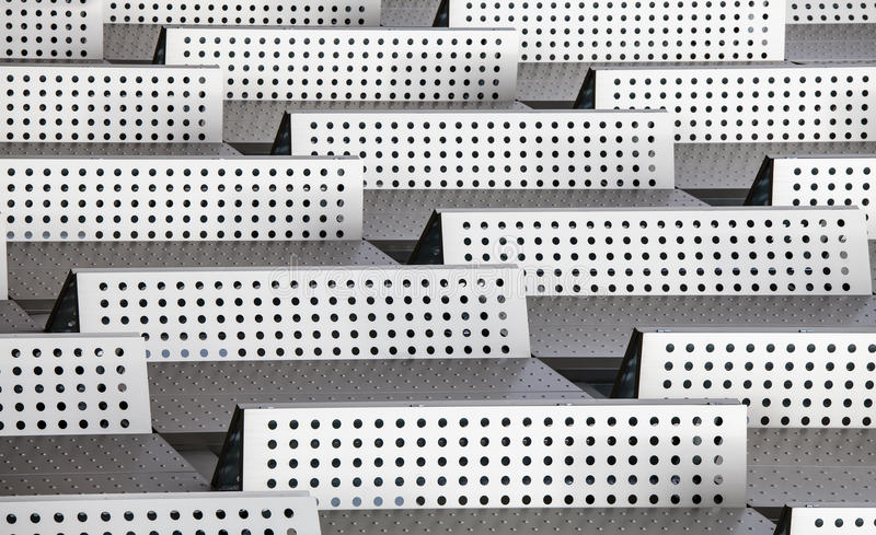 Chrome 3d background abstract modern pattern dots barriers vector illustration