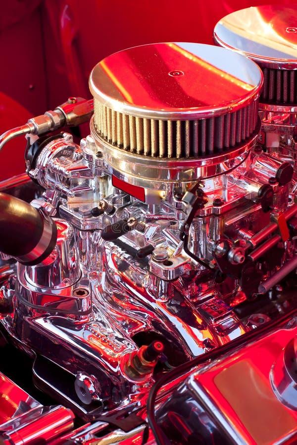 Download Chrome Engine stock image. Image of engine, retro, mechanic - 20705027