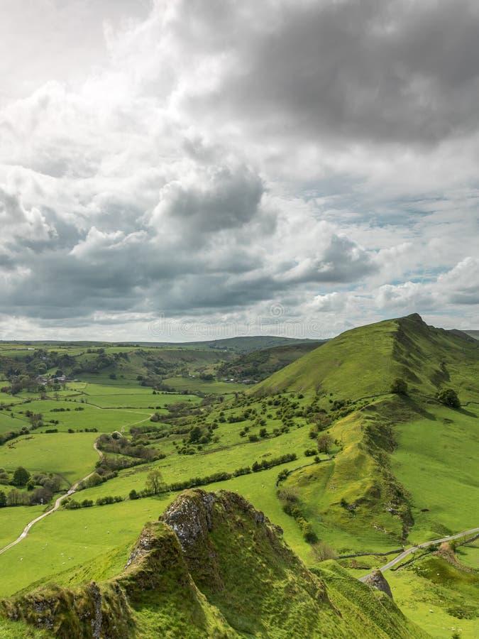 Chrome Hill. Peak District, England royalty free stock photo