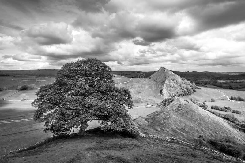 Chrome Hill. Peak District, England stock photography