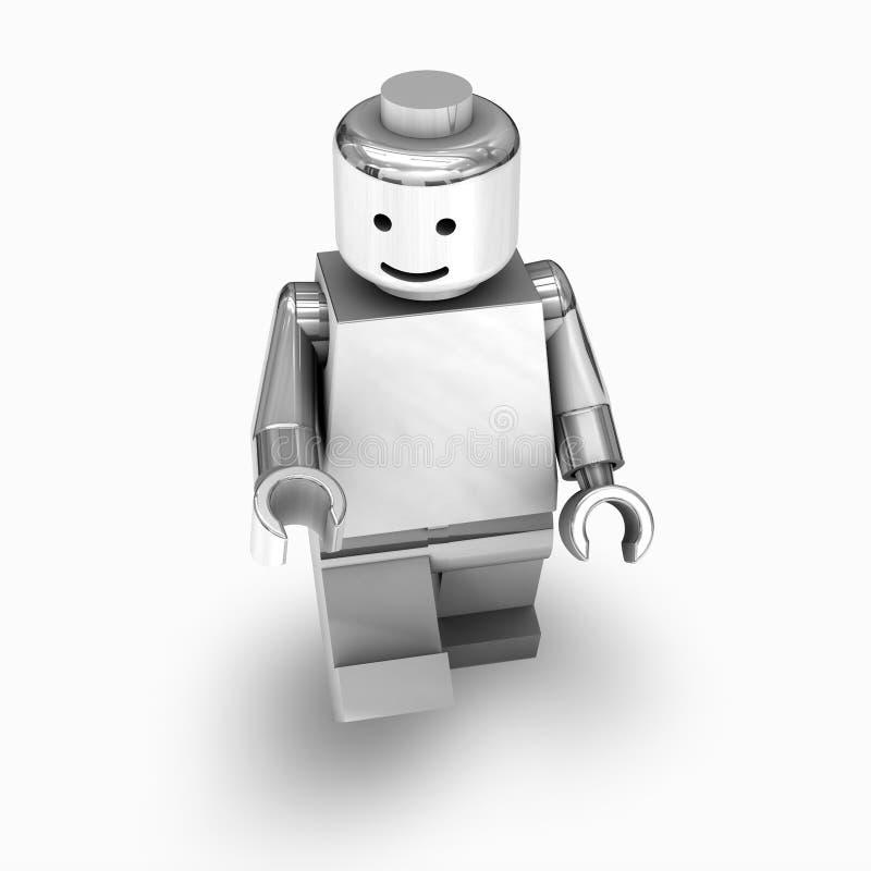 Chrome lego man