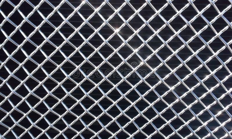 Chrome Mesh. An image of chrome mesh royalty free stock photography
