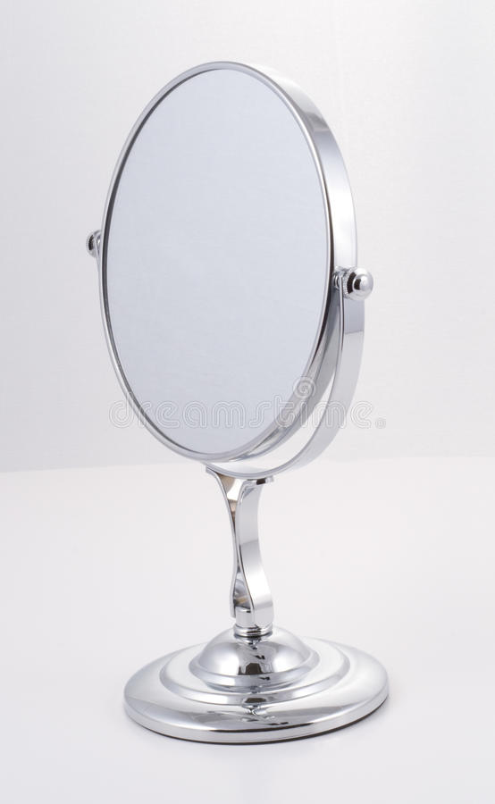 download chrome mirror with stand stock photo image of face bathroom