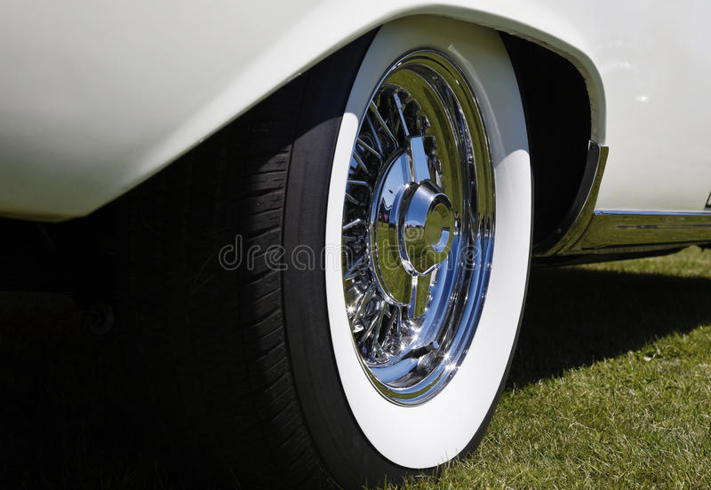 Download Chrome rims stock image. Image of vehicle, classical - 13109459