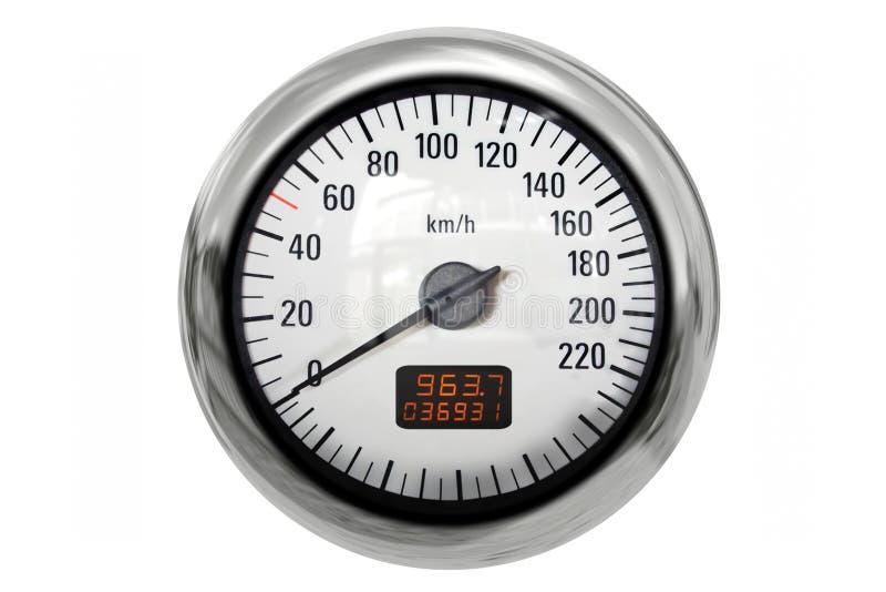 Download Chrome speedometer stock illustration. Image of illustration - 23394560