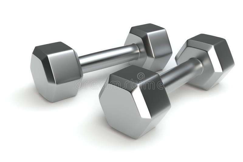 Download Chrome Weights Stock Photo - Image: 17219250