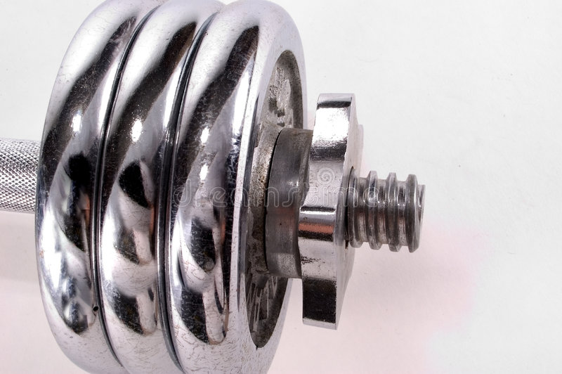 Download Chrome Weights stock photo. Image of health, barbells, lift - 33450