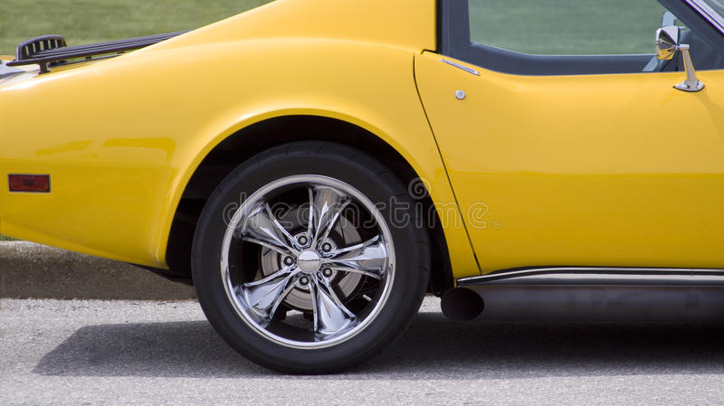Download Chrome wheel stock photo. Image of performance, shine - 14410126