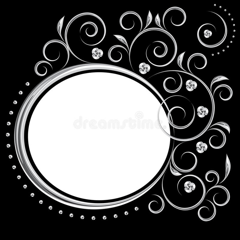 Download Chromic framework stock vector. Image of chrome, frame - 12017714