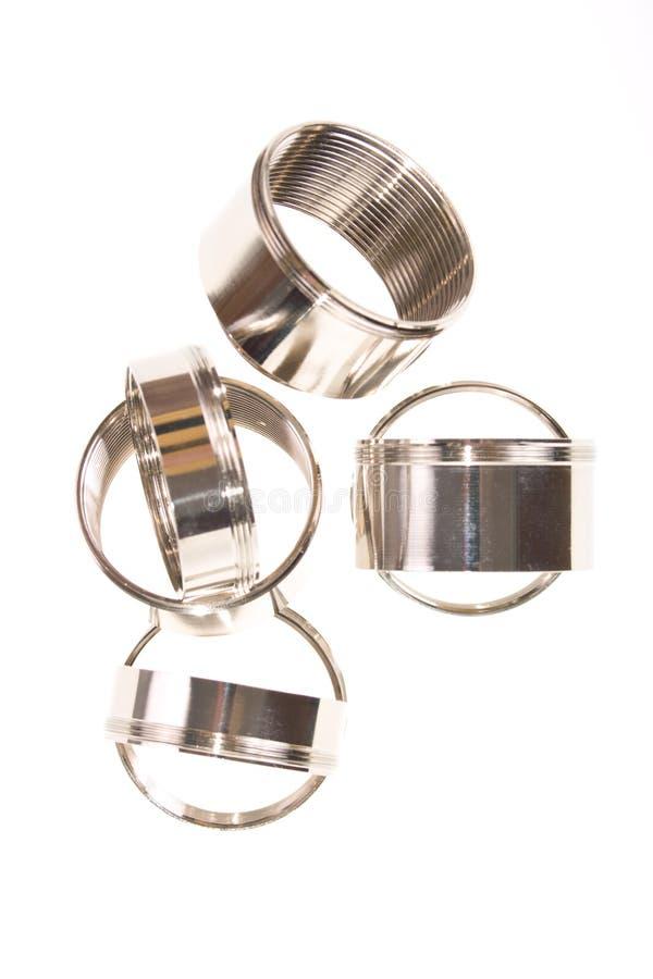 chromium matrycujący pierścionki zdjęcia royalty free