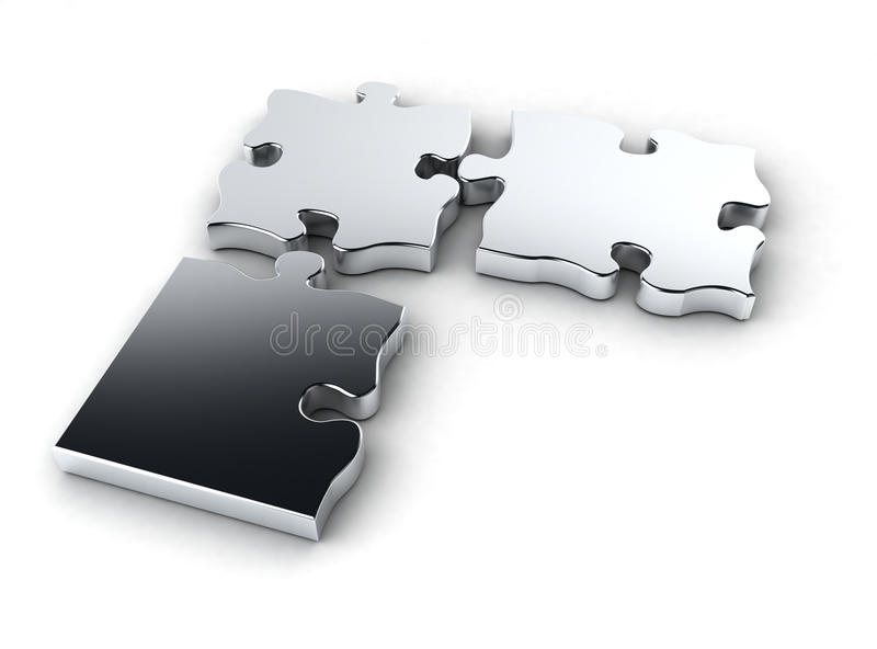 Download Chromme Puzzle Royalty Free Stock Image - Image: 9652126