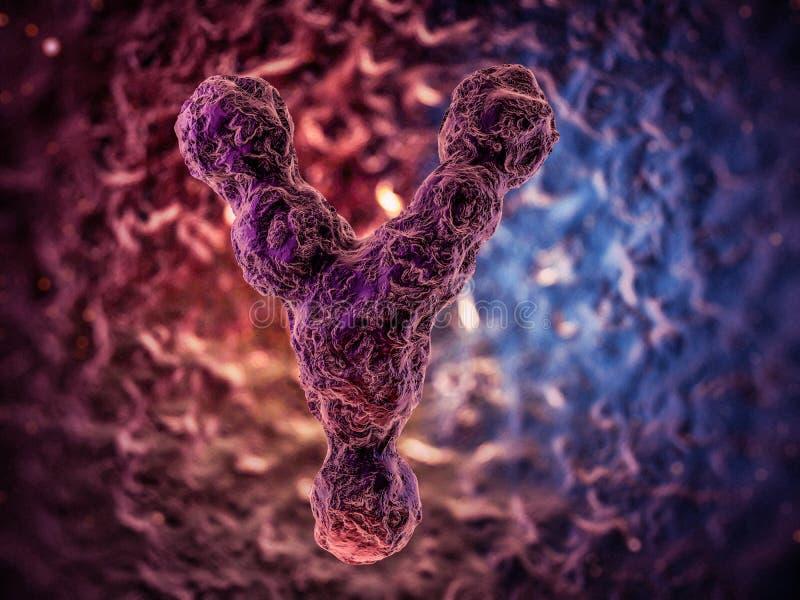 Chromosomes, gene mutation, genetic code. stock illustration