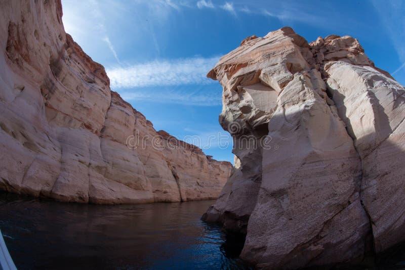 Chronić behemot Jeziorny Powell zdjęcie royalty free