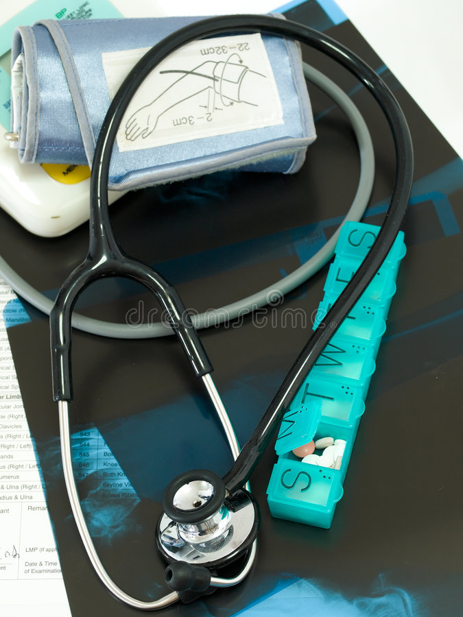 chroniczny medycznej opieki obraz stock