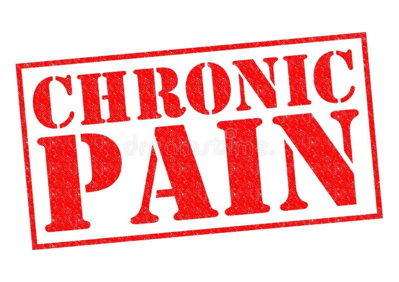 Chronische pijn vector illustratie