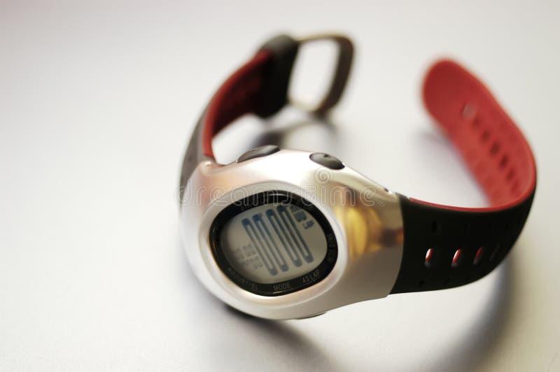 chrono cyfrowy zegarek zdjęcia royalty free