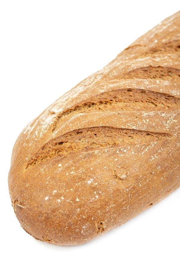 Chrono- pain sain d'isolement au-dessus du fond blanc photo stock
