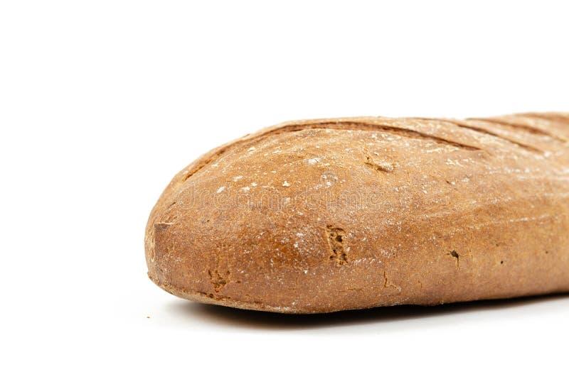 Chrono- pain sain d'isolement au-dessus du fond blanc image libre de droits