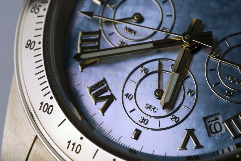 Chronograph 12 stockbild