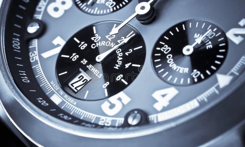 Chronograph lizenzfreies stockbild