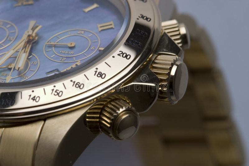 Chronographe 7 photographie stock