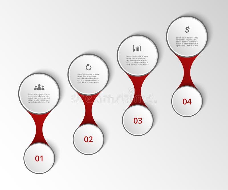 Chronologiemalplaatje royalty-vrije illustratie