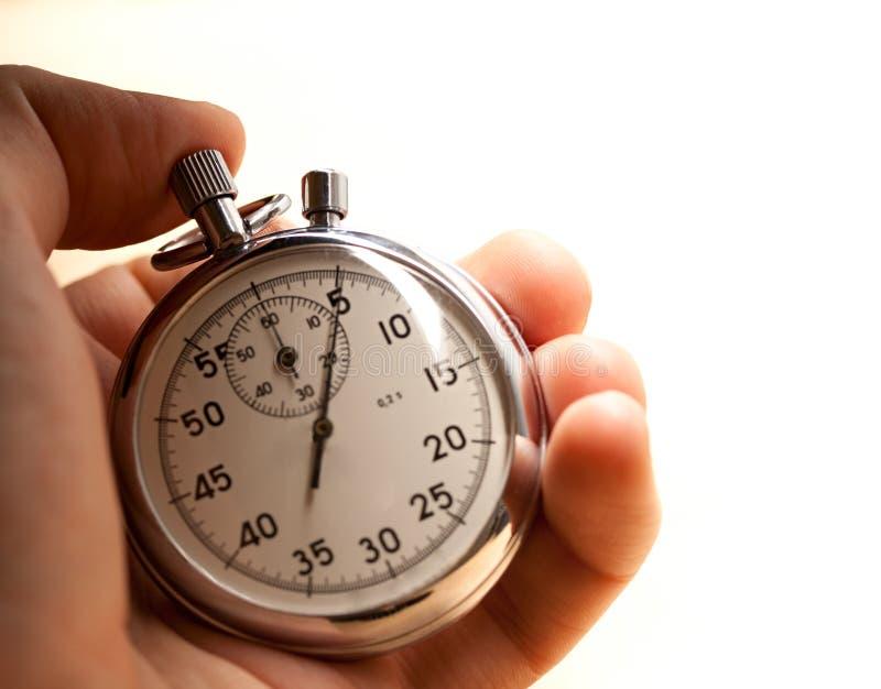Chronomètre à disposition images libres de droits