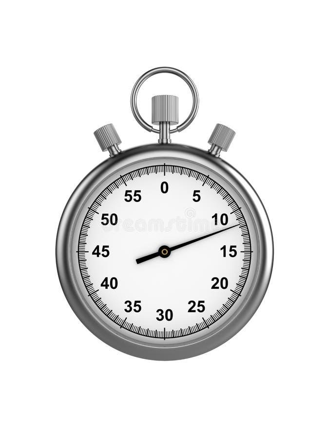 Chronomètre illustration de vecteur