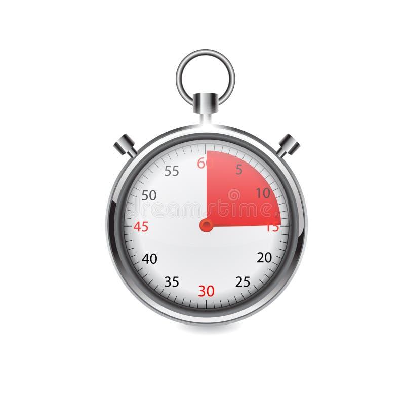 Chronomètre illustration stock