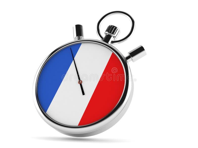 Chronomètre de Frances illustration libre de droits