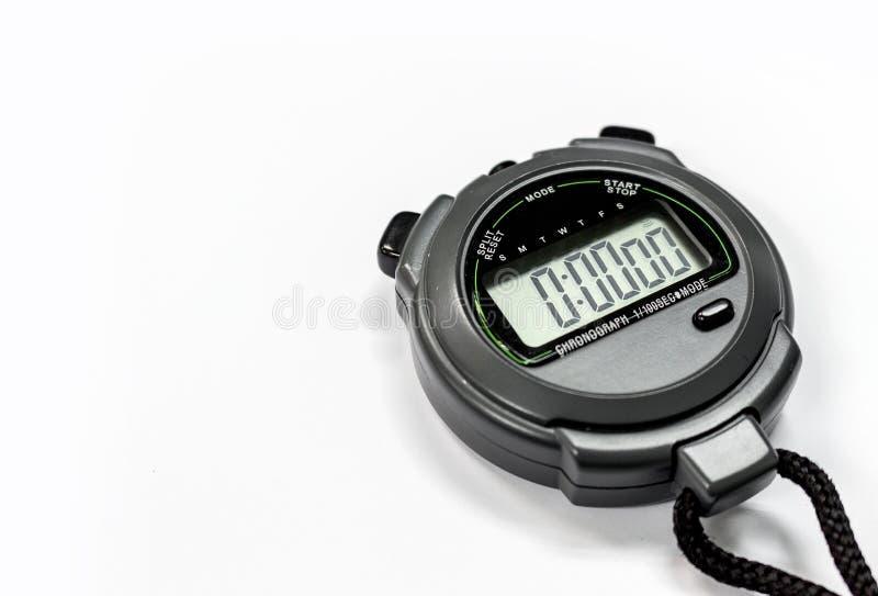 Chronomètre de plan rapproché photos libres de droits