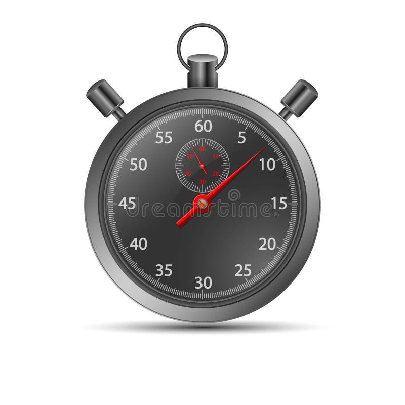 Chronomètre de vecteur illustration stock