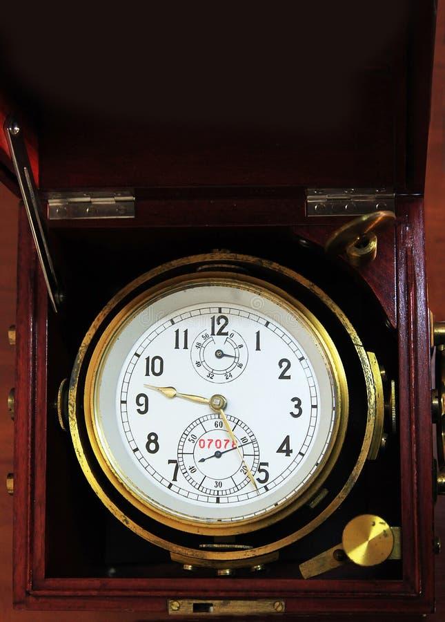 Chronomètre marin photo libre de droits