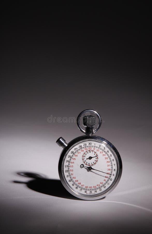 Chronomètre vertical photographie stock libre de droits