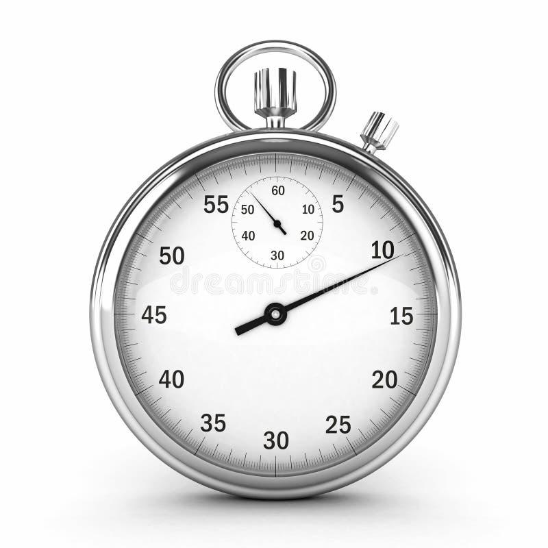 chronometer 3d royaltyfri illustrationer