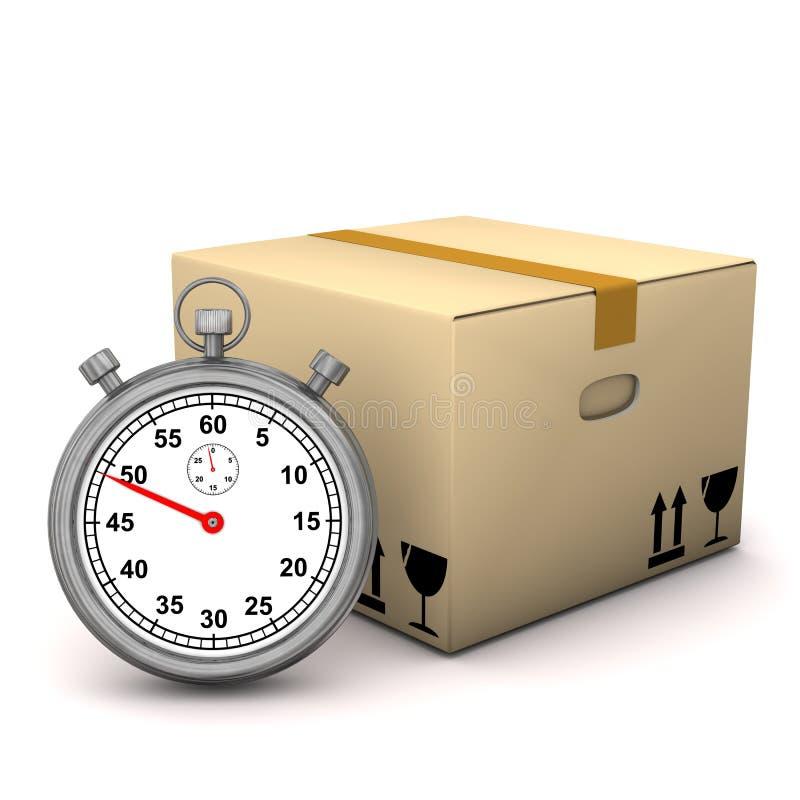 De Kist van de chronometer stock illustratie