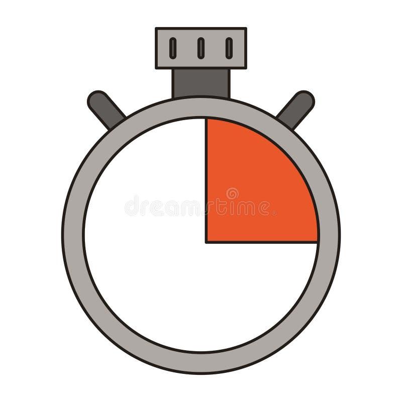 Chronometertimer-Symbol lokalisierte vektor abbildung