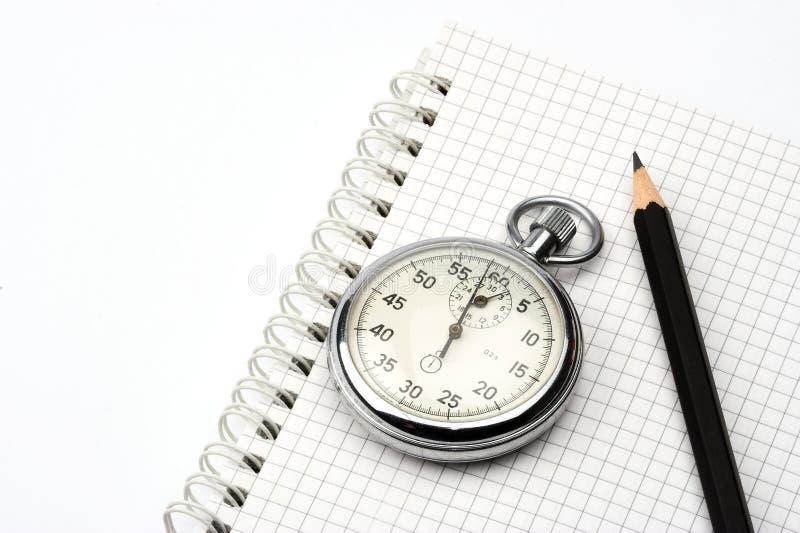 chronometru długopis. fotografia royalty free