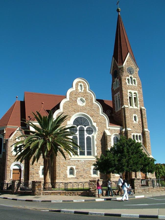 Chruch en Windhoek imagen de archivo