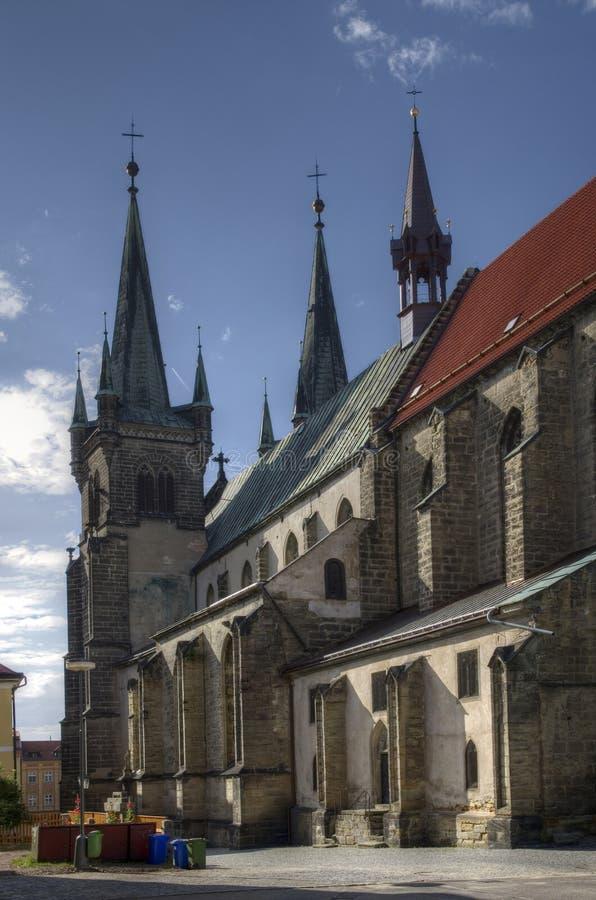 Chrudim-Schloss, Tschechische Republik stockfotografie