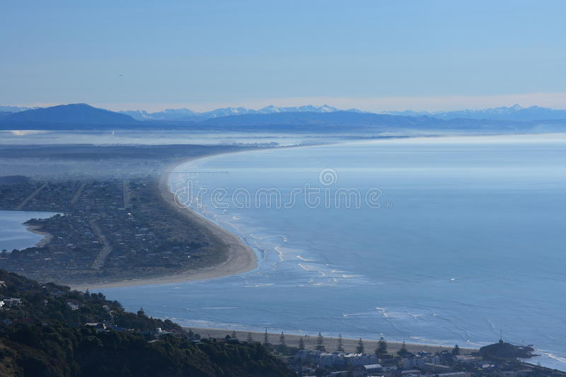 Download Chrustchurch Coastline stock photo. Image of sumner, beach - 14997348