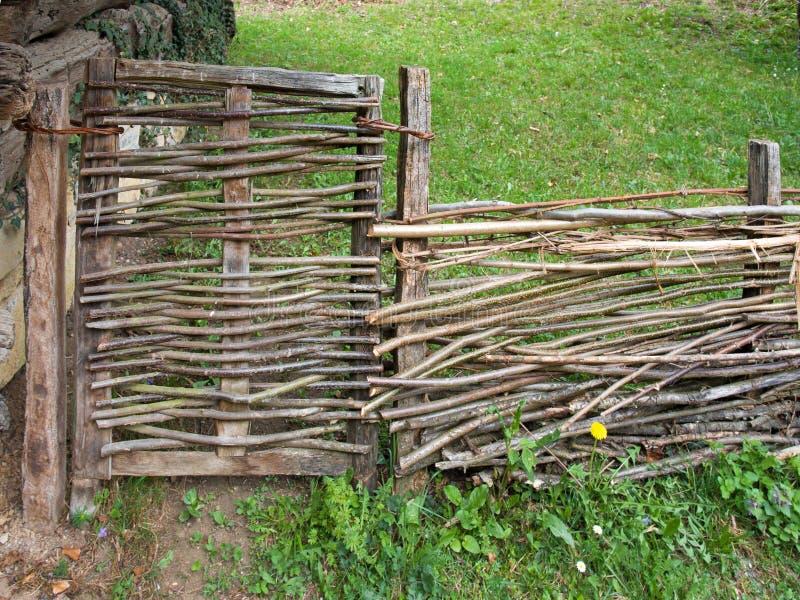 Chrustowy ogrodzenie obrazy stock