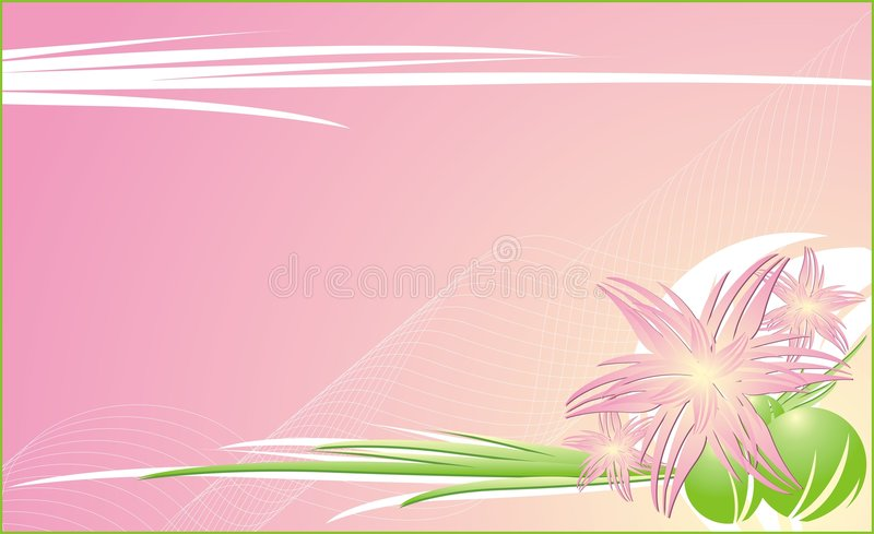 Chrysanthemums. Fond décoratif floral pour c illustration libre de droits