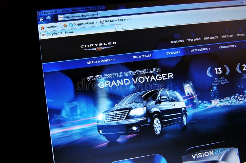 Chrysler Редакционное Стоковое Изображение