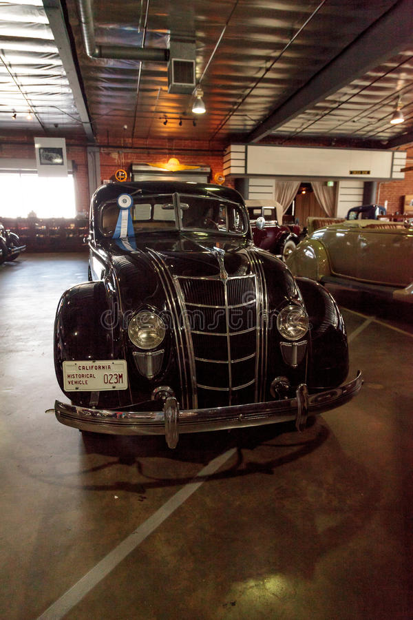 1935 Chrysler Airflow zdjęcia royalty free