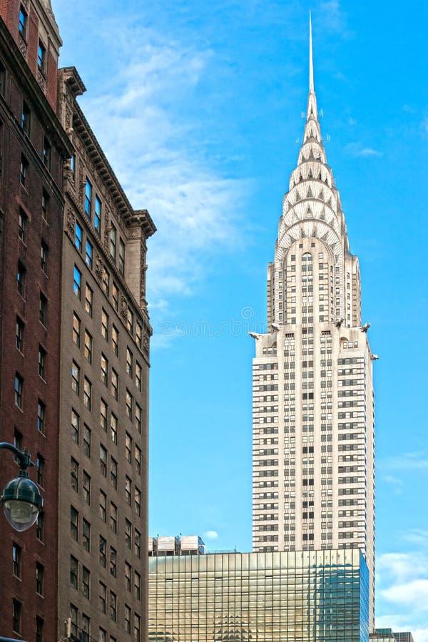 Chrysler budynek, Miasto Nowy Jork, USA. obraz stock