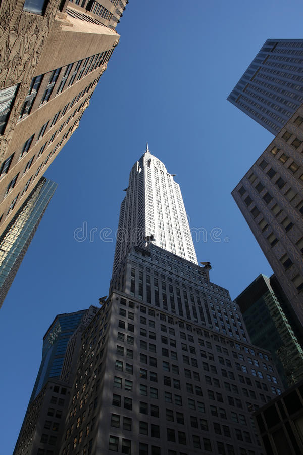 Download Chrysler Building editorial stock image. Image of york - 16542664