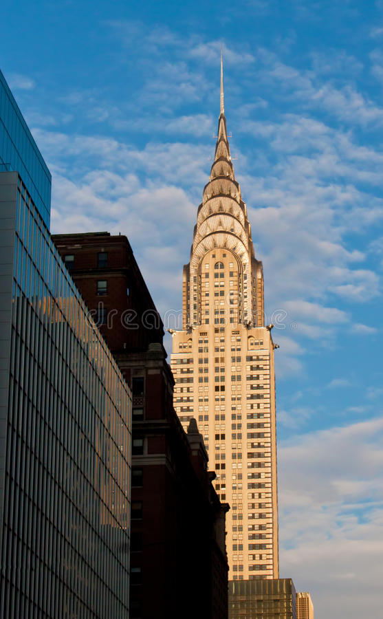 Download Chrysler Building editorial photo. Image of cityscape - 25540471