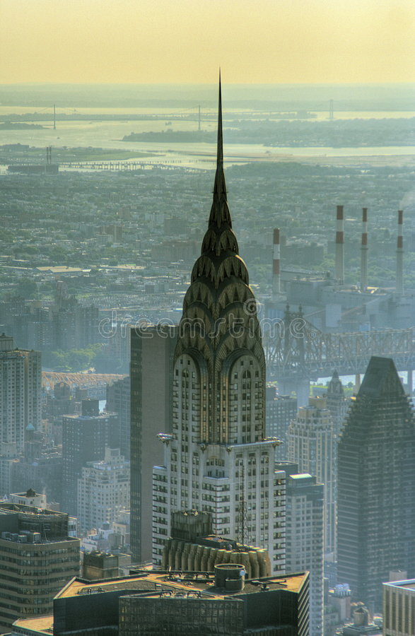 Download Chrysler Building editorial stock photo. Image of queens - 3234533
