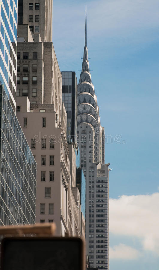 Download Chrysler Building By Broadway Editorial Stock Photo - Image: 11475263